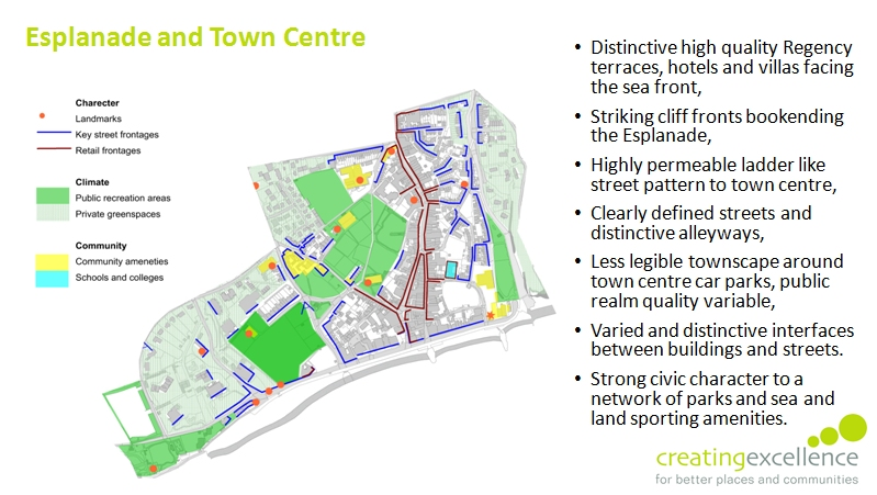 ce neighbourhood plan esplanade and town centre slide